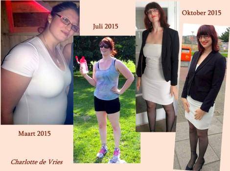 EAT and get FIT progress Charlotte de Vries